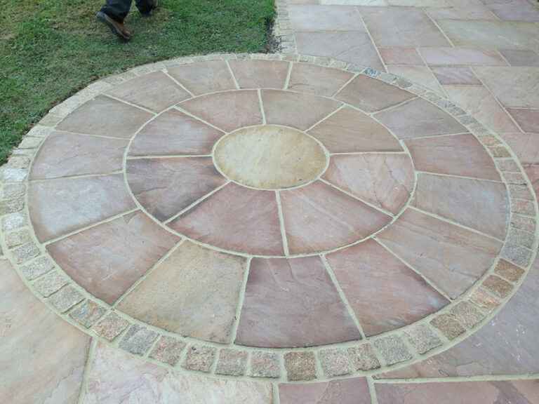 Decorative paving stones