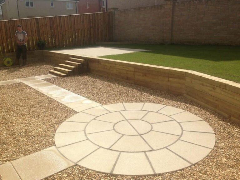 Decorative paving Glasgow