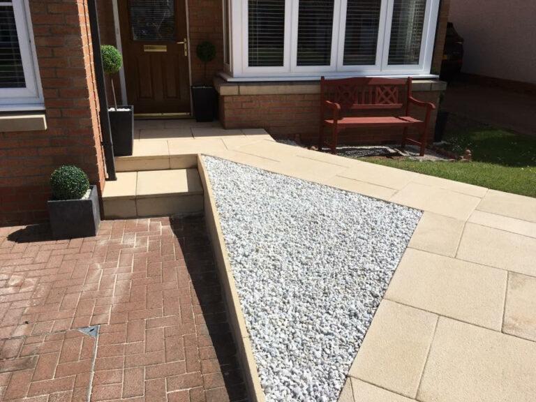stones and slabs garden