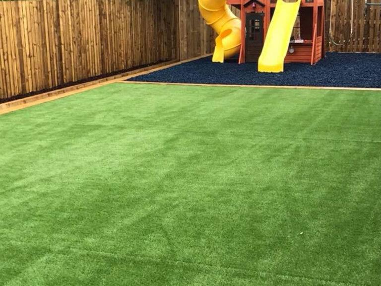 Grass in Glasgow Garden