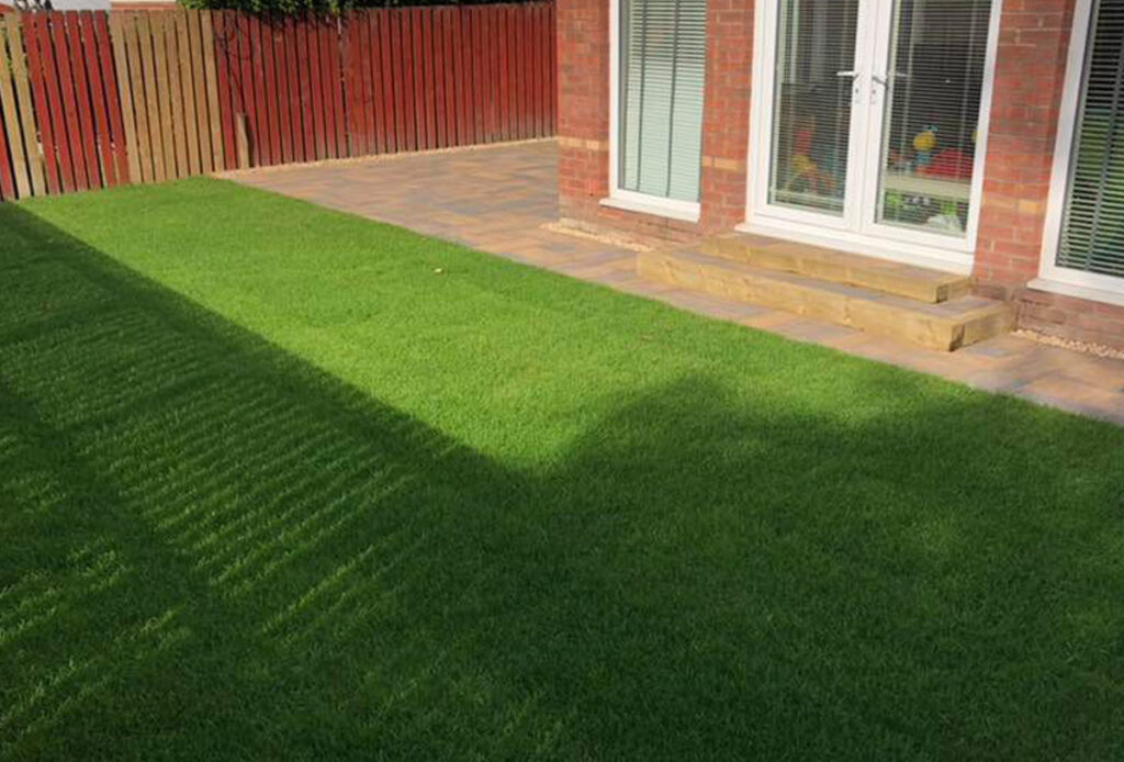 Landscaping project competed in Motherwell